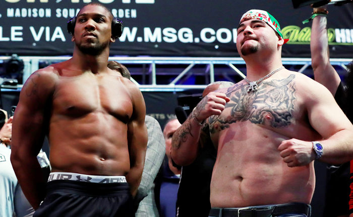 Anthony Joshua Vs Andy ruiz -2019 June 1