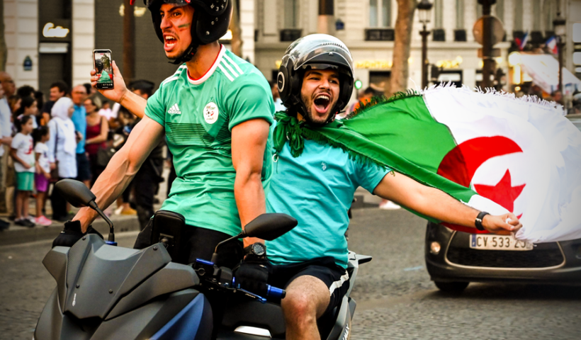 Algeria Fans Went Wild In Paris After Reaching The #AFCON 2019 Semi-final