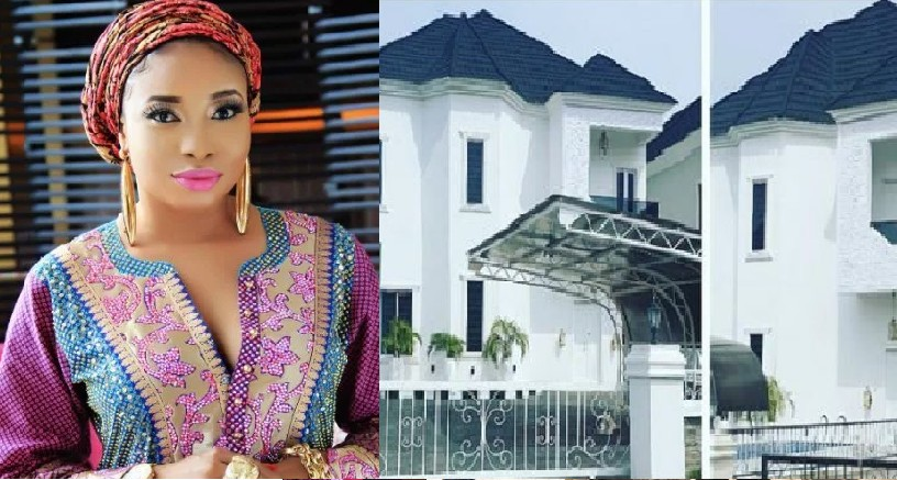 lizzy anjorin new lagos mansion, july 2019