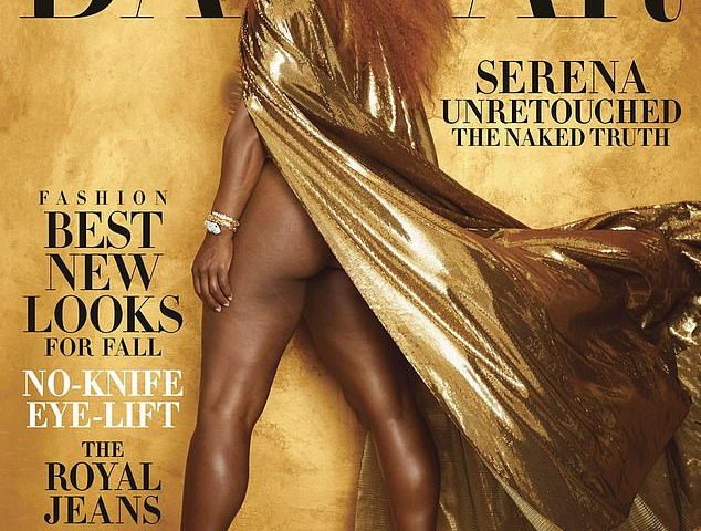 Serena Williams Did Something Strange As Harper's Bazaar Magazine Cover Superstar.