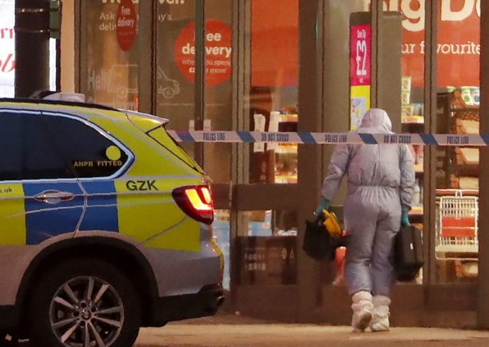 "Man Wearing Fake Bomb Stabs Two In""terrorist-related"" Assault In London"
