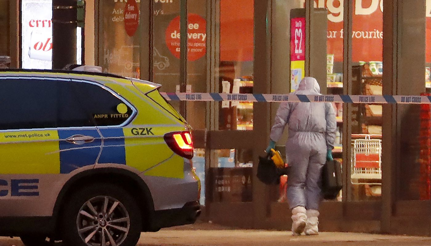 """Man Wearing Fake Bomb Stabs Two In""""terrorist-related"""" Assault In London"""