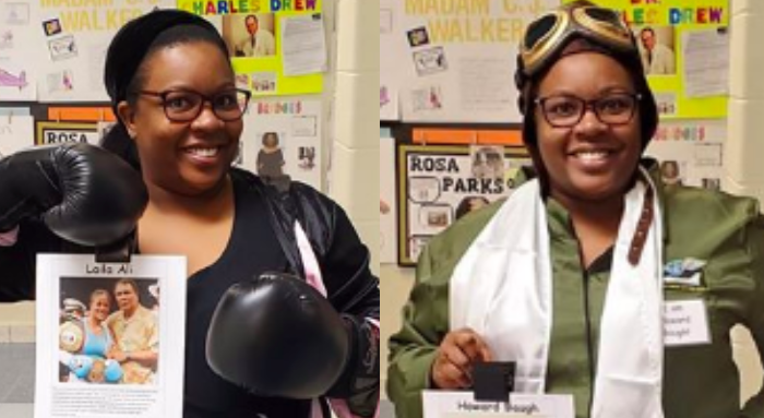 First Grade Teacher Dresses Up As A Different Black Trailblazer Every Day Of Black History Month-